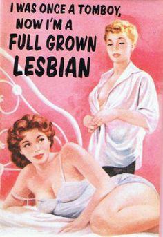Full Grown Lesbian