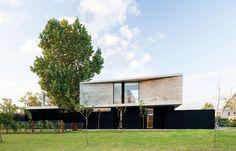 Galeria Fotos - Amado Cattaneo Arquitectos - Casa estilo actual racionalista - Portal de Arquitectos