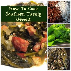 How to Cook Southern Turnip Greens Recipe on Yummly. @yummly #recipe