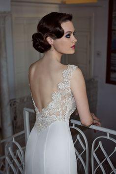 Wedding Dress 2013, Black Wedding Dresses, Vintage Wedding Hair, Vintage Bridal, Lace Wedding, Vintage Hairstyles, Wedding Hairstyles, Bridal Hair, Bridal Gowns