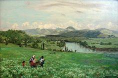 Hans Thoma, The Rhine near Säckingen