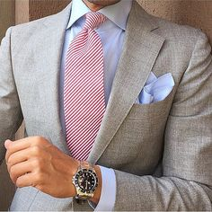 Life in business - tieoftheday: Today Outfit with Gentleman Mode, Gentleman Style, Rugged Style, Sharp Dressed Man, Well Dressed Men, Mens Fashion Suits, Mens Suits, Suit Combinations, Herren Outfit