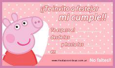 Tarjeta de cumpleaños de peppa-pig