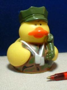 Rubber Duckies <3 US Troops