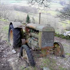 Beautiful Fordson tractor