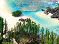 Plage de Shabadran, Maré - Nouvelle Calédonie - Pacifique