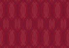 Diseño con ondas en este papel pintado de la colección Saphyr II de Grandeco.