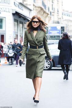 Paris Fashion Week Street Style Ix