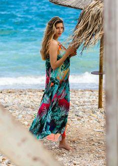 10 φορέματα μακριά αέρινα για μοδάτες καλοκαιρινές εμφανίσεις - Miss Pinky Cover Up, Blog, Dresses, Fashion, Vestidos, Moda, Fashion Styles, Blogging, Dress