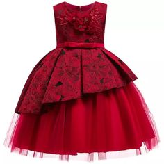 Children Wedding party Kids Dresses for girls Open back Beading Flower girls baby Girls Clothes Kids Christmas Party Dress Source by sorrowofadalek dresses girl African Dresses For Kids, Dresses Kids Girl, Girls Party Dress, Baby Dress, Kids Outfits, Flower Girl Dresses, Flower Girls, Dress Party, Night Outfits