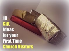 Ideas for church visitor folders, welcome packets, Excellent gift ideas for church visitors showing appreciation to first time church guests