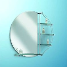 To make the mirror shine : Clean with spirit