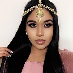 ROYAL Gold Pearl Matha Patti Wedding Bridal Goddess Bohemian Boho Grecian Head Chain Hair Jewelry Head Piece Bollywood Wedding Prom