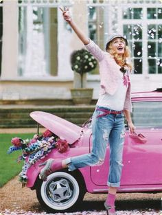 vintage fairy tale car