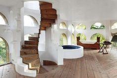Landhaus in Spanien von Xavier Corberó
