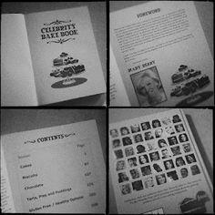 Celebrity Bake Book #benkinsellatrust #UK