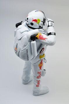 Felix Baumgartner Astronaut Figure for Zenith by Coolrain //