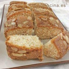 Bizcocho de almendras y queso crema < Divina Cocina