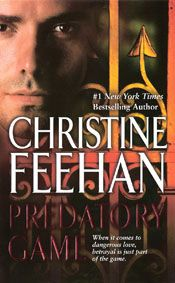 Predatory Game by Christine Feehan - This male character was introduced in the 2nd book of the series and has been mentioned in every one since. I am excited to see him in the spotlight. :-) Started 01-17-2012