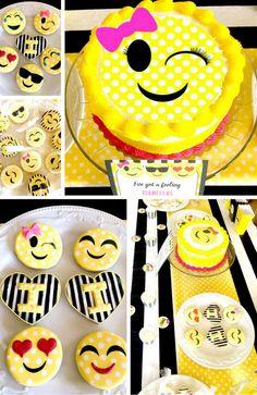 Emoji Double Digit Birthday Party