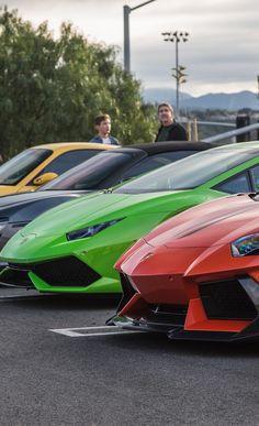 Lamborghini Aventador and Huracan