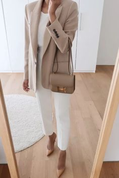 Glamouröse Outfits, Office Outfits, Classy Outfits, Stylish Outfits, Fashion Outfits, Fashion Ideas, Workwear Fashion, Trajes Business Casual, Business Casual Outfits
