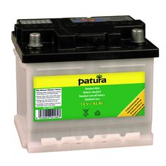 Patura 12 Volt Standard Wet Cell Battery-100ah Wet-cell battery offering value for money For use with 12V battery energisers Delivered without batter