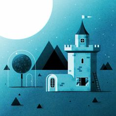 Digital Illustrations by Ned Wenlock