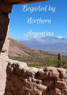 Beguiled by Northern Argentina via The World on my Necklace