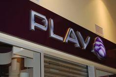 """Play - znaki przetrzenne wykonany dla """"sporego"""" klienta :)"""