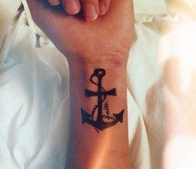Inspiring image anchor, anchor tattoo, cross tattoo, i want, tattoo, wrist tattoo #1647990 by aaron_s - Resolution 768x1024px - Find the image to your taste
