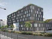 HELIOS  Immeuble neuf de bureaux à Massy en face de la gare TGV de MASSY/PALAISEAU