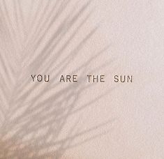 Du bist die Sonne Zitat Inspiration You are the sun quote inspiration Beige Aesthetic, Quote Aesthetic, Words Quotes, Wise Words, Sayings, Positive Quotes, Motivational Quotes, Inspirational Quotes, Quotes To Live By