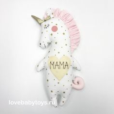 Mermaid Crafts, Unicorn Crafts, Pet Toys, Kids Toys, Sewing Crafts, Sewing Projects, Unicorn Doll, Handmade Stuffed Animals, Cat Doll
