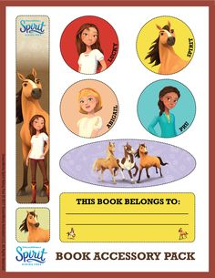 All in favor of covering books the usual way, say aye. All opposed, say NEIGH! 🐴 You can print your book accessories now! Caballo Spirit, Ice Bear We Bare Bears, All Tv, Free Tv Shows, Tv Show Games, Dreamworks Animation, Activity Centers, Animal Party, Free Reading