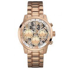 relógios Guess femininos de aço rosé