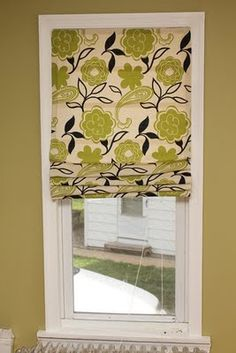 365 Days to Simplicity: Easy no sew Roman Shades  - pin now read later