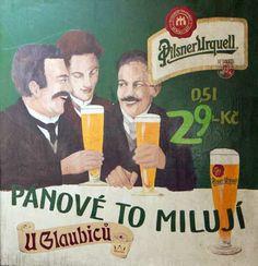Pilsner Urquell Publicité Vintage