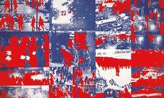 Gérard Fromanger's Album le Rouge, 1968-70.