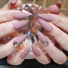 Almond Acrylic Nail Shapes