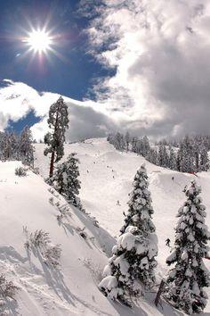 Big Bear CA in the winter. So beautiful.