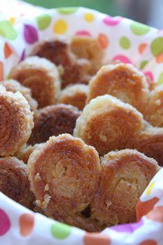 o bolo da tia Rosa: Palmiers de limão