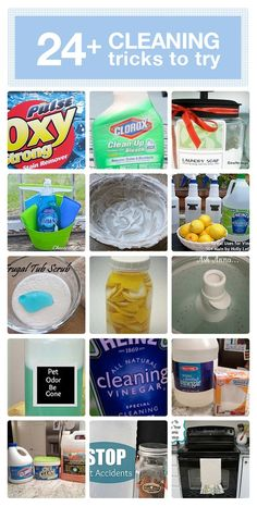 #24 cleaning tricks that really work!!!