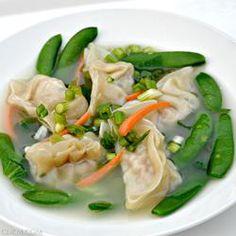 Won Ton soup - pork