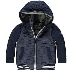 Figo Boys Lo jacket, black iris