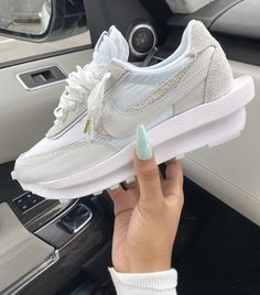 Sneakers Fashion, Fashion Shoes, Shoes Sneakers, Fashion Accessories, Nike Waffle, Swag Shoes, Aesthetic Shoes, Fresh Shoes, Hype Shoes