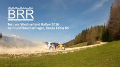 BRR Test vor Wechselland Rallye 2016 - Raimund Baumschlager, Skoda Fabia R5 www.ir7.at / www.brr.at #video #motorsport #rally Vw Polo R Wrc, Skoda Fabia, Rally, Videos, Motorsport, Country Roads, Autos, Vehicles