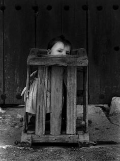 New take on time out....  Christer Strömholm. Cuenca, Spain, 1961