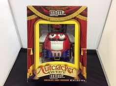 Nutcracker Sweet M&Ms Chocolate Candy Dispenser Official Limited Edition  #DistributedByMars