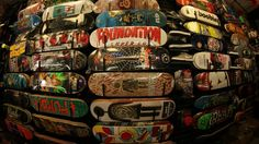 Orbit Skate and Boutique has a huge deck wall packed full of what you want! Come check us out in San Leandro CA!